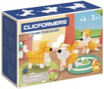 806001 Klocki CLICFORMERS Sweet Friends yellow & white