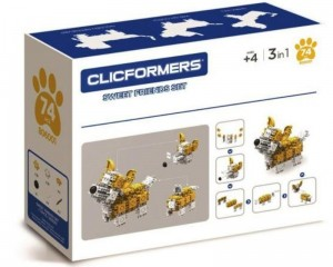 #806001 CLICFORMERS sweet friends yellow & white od Clics.pl