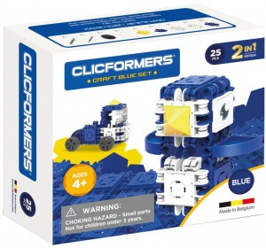 807004 Klocki CLICFORMERS Craft set blue 25el